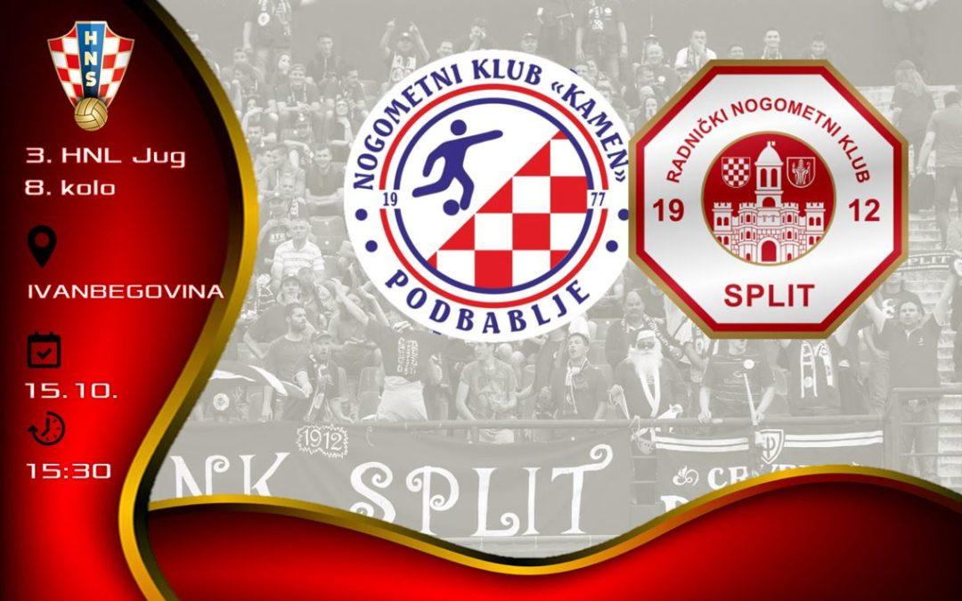 Split je u Ivanbegovini s Kamenom odigrao 1:1