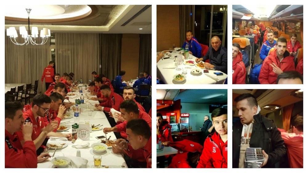 Crveni stigli u Tursku: Sutra prvi trening, u utorak utakmica s Tom Tomskom
