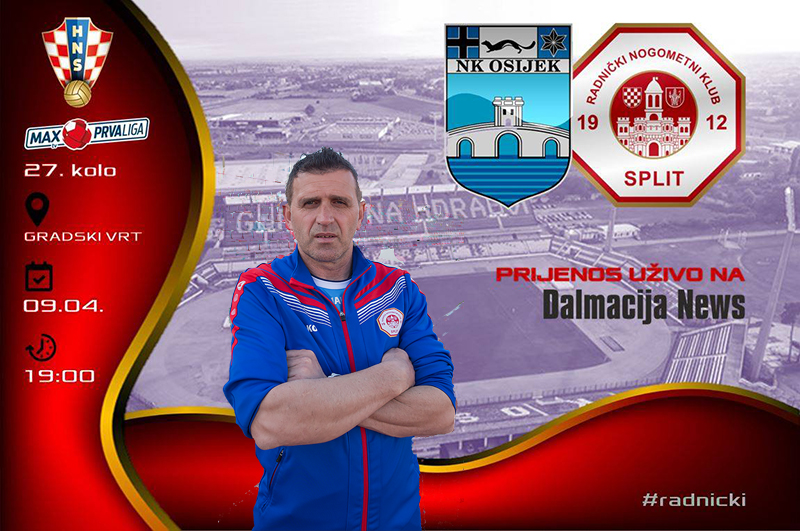 Akrapović: Ne taktiziramo, idemo igrati utakmicu i pokazati se u najboljem svjetlu