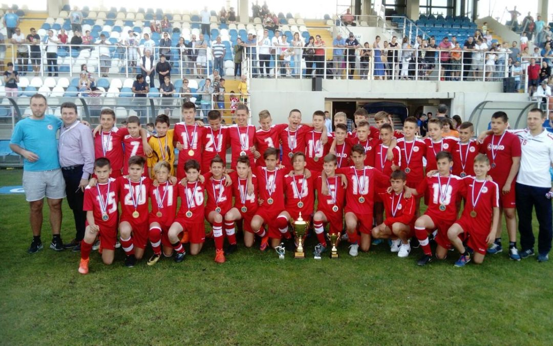 Mlađi pioniri RNK Splita (2005. godište) osvojili prvo mjesto na Dalmatinko Cupu