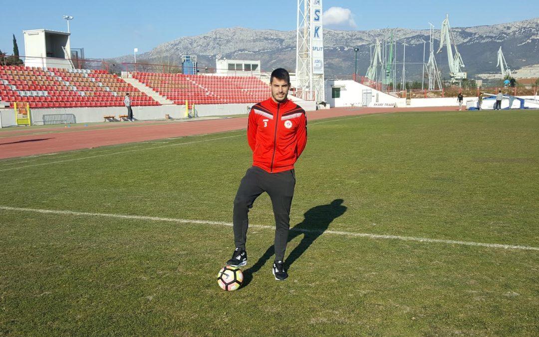 Kapetanović: Ne mogu obećati da ću biti Splitov Andrijašević, ali zato obećajem da ću dati sve od sebe