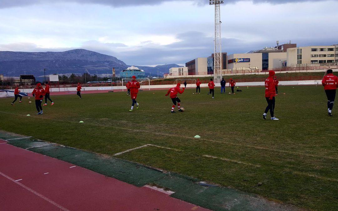 Crveni u Turskoj protiv Tom Tomska, Dinamo Minska, Zarije Balti i Kairata