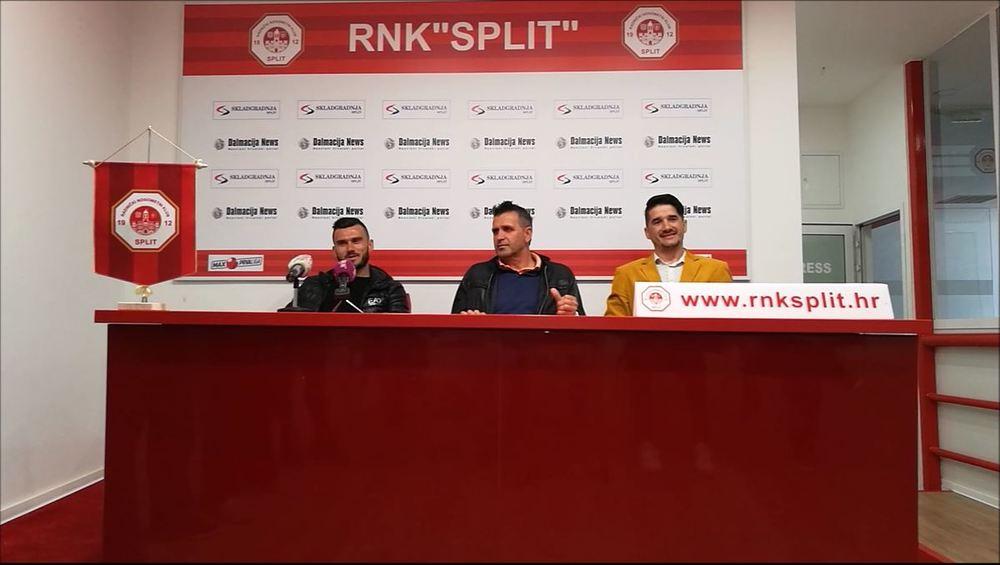 Press konferencija RNK Splita povodom derbija sv. Duje